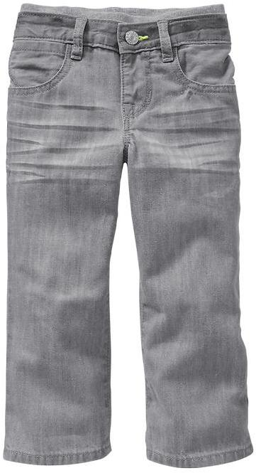Gap First five-pocket jeans (gray wash)