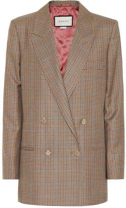 Gucci Checked wool blazer
