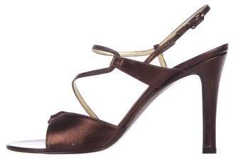 Bruno Magli Ankle Strap Leather Sandals