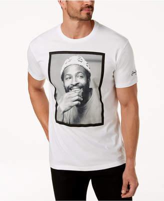 Sean John Men's Marvin Gaye White Party Graphic-Print T-Shirt