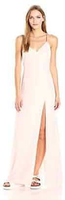 Baja East Women's Velvet Slip Dress