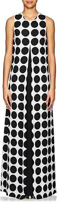 Lisa Perry Women's Dotted Crepe Gown