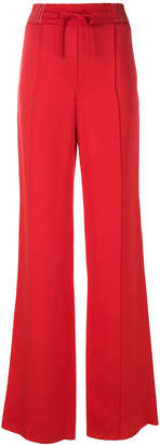 Valentino high waist wide leg trousers