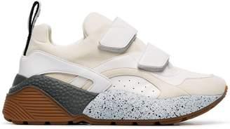Stella McCartney white Eclypse 45 chunky velcro sneakers