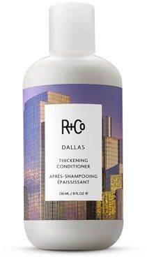 R+Co DALLAS Thickening Conditioner/8.5 oz. $28 thestylecure.com