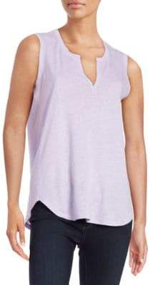 Lord & Taylor Split Neck Tank