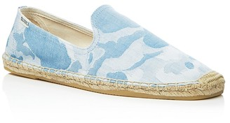 Soludos Men's Camo Smoking Slipper Espadrilles $65 thestylecure.com