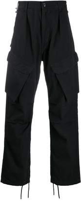 Neighborhood front flap pocket cargo trousers