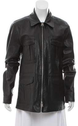 Tom Ford Leather Utility Jacket w/ Tags