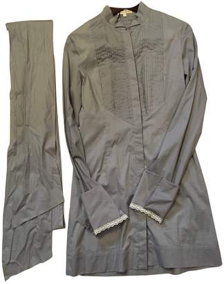 L'Wren Scott Purple Cotton Top for Women