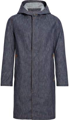 MACKINTOSH Dark Indigo Denim Hooded Coat D-MC007D