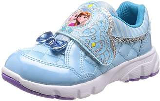 Disney (ディズニー) - [ディズニー] 運動靴 通学履き アナと雪の女王 マジック キッズ DN C1217 サックス 16 cm 2E