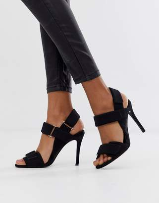 034d06013f Asos Design DESIGN Hazelnut sporty heeled sandals