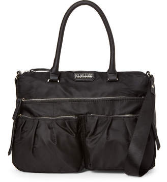 Kenneth Cole Reaction Black Karin Nylon Satchel