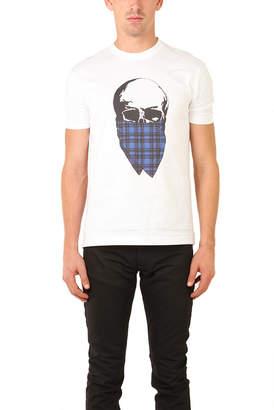 Markus Lupfer Tartan Skull T-Shirt