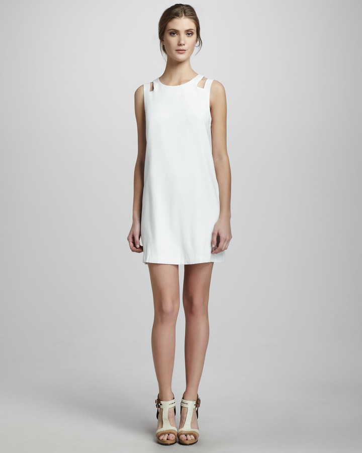 Jay Godfrey Randall Cutout-Shoulder Dress
