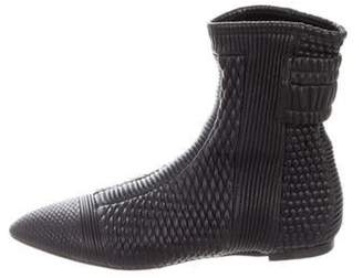 Ballin Alchimia Di Leather Pointed-Toe Ankle Boots Black Alchimia Di Leather Pointed-Toe Ankle Boots