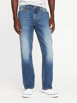 Old Navy Straight Tough Max Built-In Flex Jeans for Men