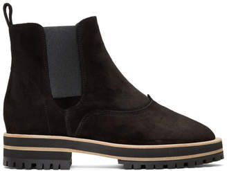 Repetto Black Suede Graham Boots