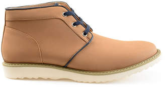 Co VANCE Vance Mens Banner Chukka Boots Lace-up