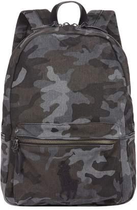 Polo Ralph Lauren Logo Camouflage Backpack
