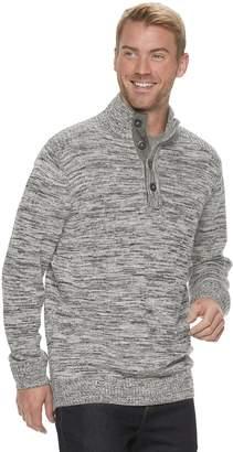 Method Products Men's Regular-Fit Button Mockneck Sweater