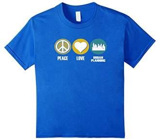Peace Love Urban Planning T-shirt