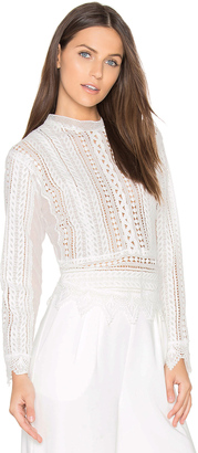 J.O.A. Crochet Top $66 thestylecure.com