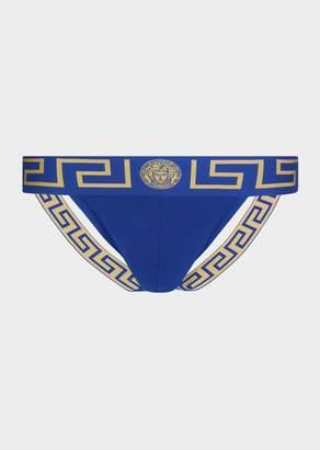 Versace Greca Border Jock Strap Underwear