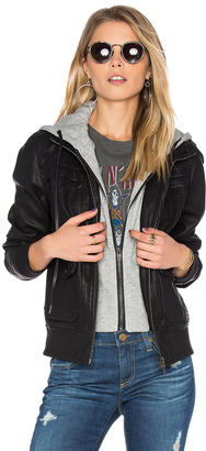 BLANKNYC Hooded Jacket $188 thestylecure.com