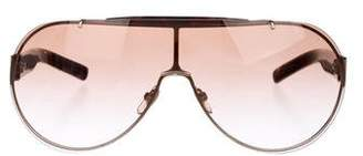 Gucci Gradient Lens Aviator Sunglasses