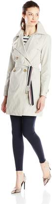 Tommy Hilfiger Women's Double-Breasted Trench Coat