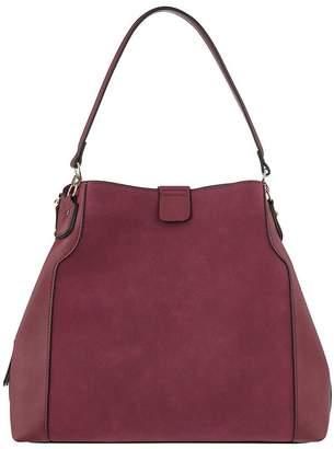 Accessorize Harper Shoulder Bag - Burgundy