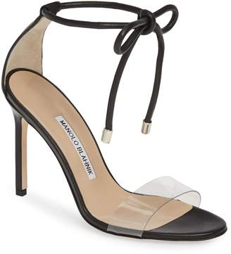 153c5223149 Manolo Blahnik Ankle Tie Women s Sandals - ShopStyle