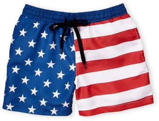 Americana Brooklyn Cloth (Boys 8-20 Swim Trunks