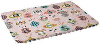Deny Designs Heather Dutton Decorated Blush Bath Mat Bedding