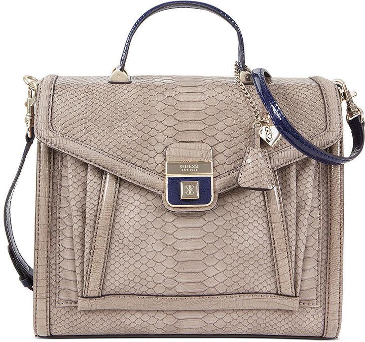 GUESS Handbag, Analfi Top Handle Flap Bag