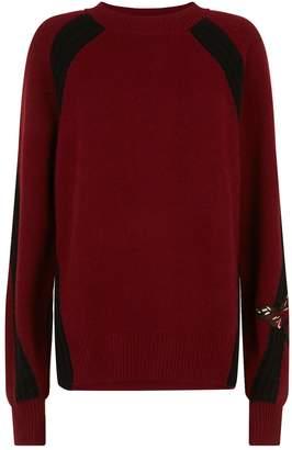 Amanda Wakeley Cashmere Moth Embellished Sweater