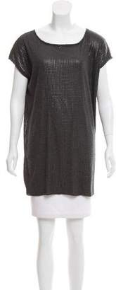 Vince Sequined Sleeveless Tunic w/ Tags