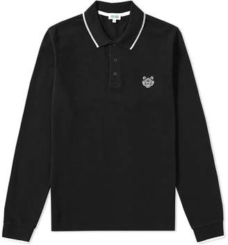 Kenzo Long Sleeve Tiger Polo