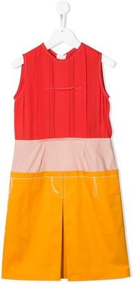 Marni block color dress