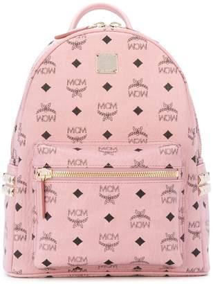 MCM Start monogram backpack