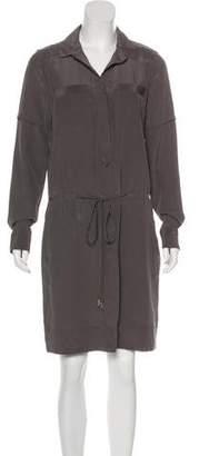 Diane von Furstenberg Taya Silk Shirtdress