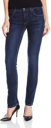 James Jeans Women's High Rise Straight Leg Jeans