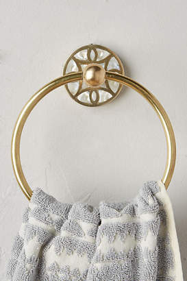 Anthropologie Launis Towel Ring