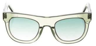 f93421e93b Westward Leaning Westward  Leaning Gradient Round Sunglasses