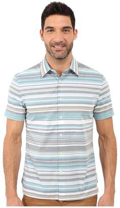 Perry Ellis Regular Fit Multicolor Stripe Pattern Shirt $49.99 thestylecure.com