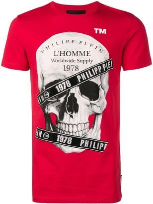Philipp Plein l'Homme Skull print T-shirt