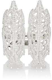 Natasha Zinko Women's Crochet Bird Knuckle Ring - Silver
