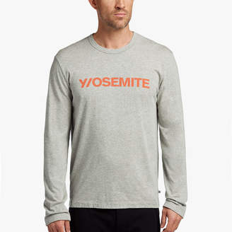 James Perse Y/OSEMITE HEATHERED GRAPHIC TEE
